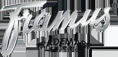 Logo der Gitarrenfirma Framus
