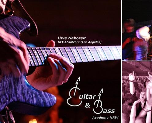 Gitarren & Bass Academy - Gitarrenunterricht in Düsseldorf und Essen.