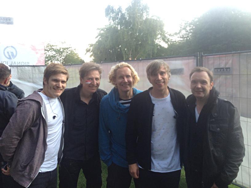 Uwe Naboreit, Gitarrenlehrer in Düsseldorf, Essen, Mönchengladbach, mit Kasalla bei der kölschen Nacht 2017