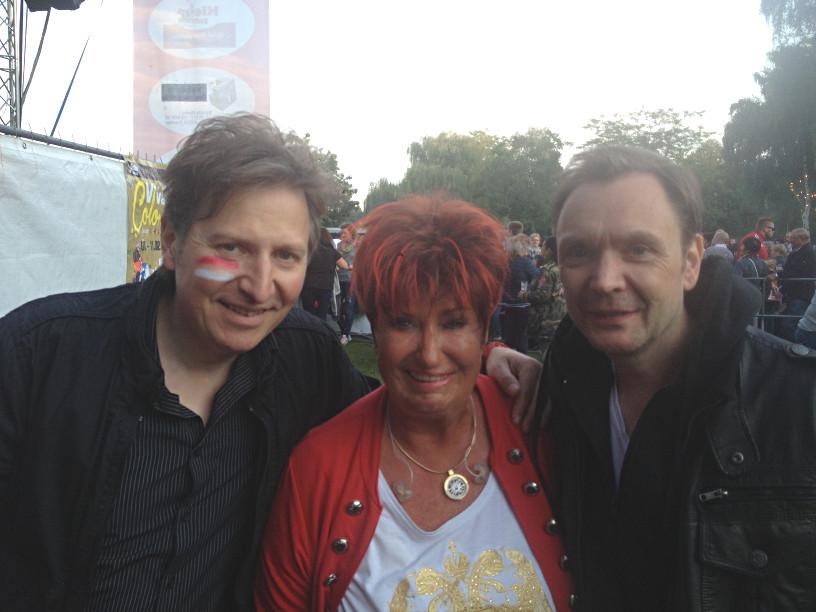 Gitarrenlehrer Uwe Naboreit mit Marita Köllner