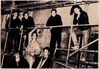 The Peers - eine Essener Band, in der Uwe seine ersten Auftritte als Gitarrist hatte
