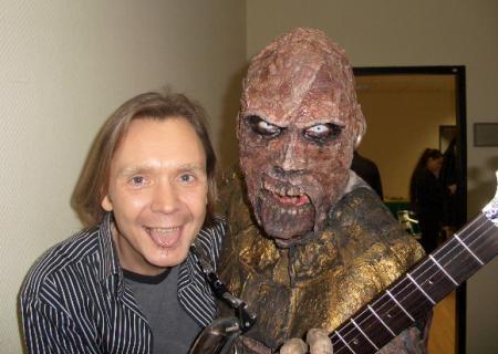 Uwe Naboreit, Gitarrenlehrer, mit Lordi